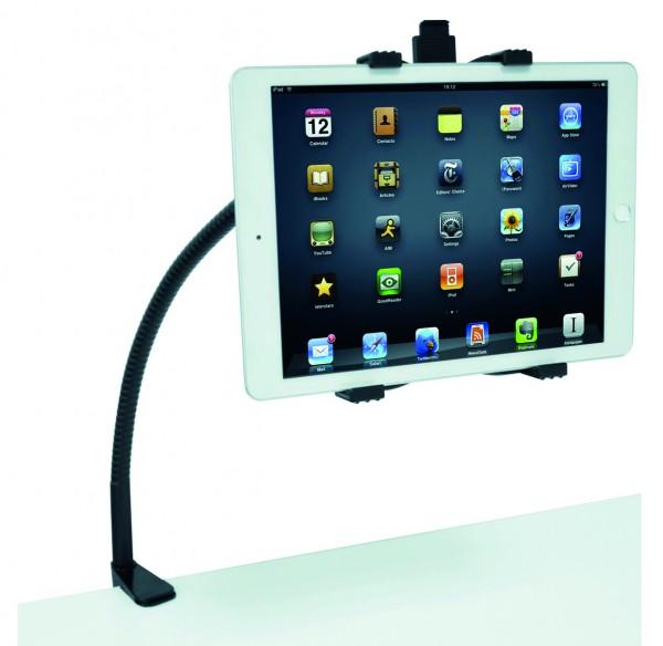 FlexTabArm, Tablet Schwanenhals-Ständer mit Tischklemme