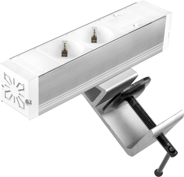 Filex - Power-Desk-up® (2x 230V + 1x Keystone, GST18 - 3cm)