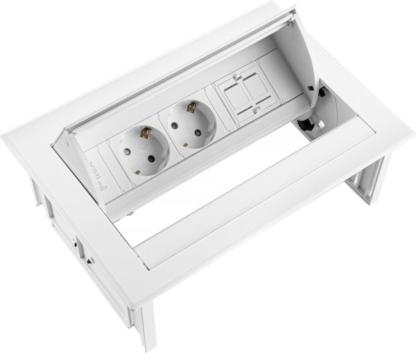 Filex - Power-Desk-In (2x 230V + 1x Keystone)